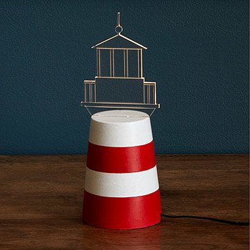 LED Lighthouse Lamp