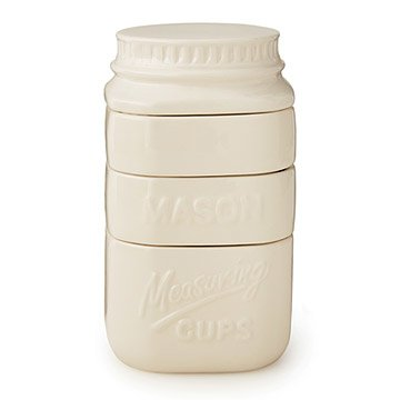 Stackable Mason Jar Measuring Cups