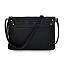 Smartphone Charging Crossbody Clutch - Black 2 thumbnail