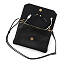 Smartphone Charging Crossbody Clutch - Black 3 thumbnail