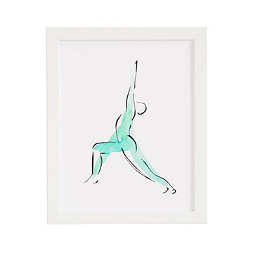 Warrior Pose Print