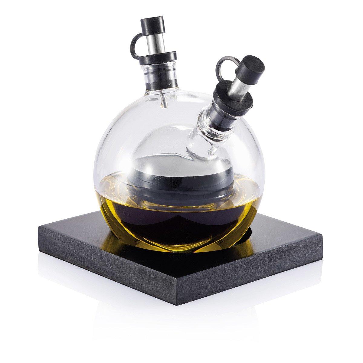 orbit oil and vinegar set  modern glass oil and vinegar set  - orbit oil and vinegar set  thumbnail