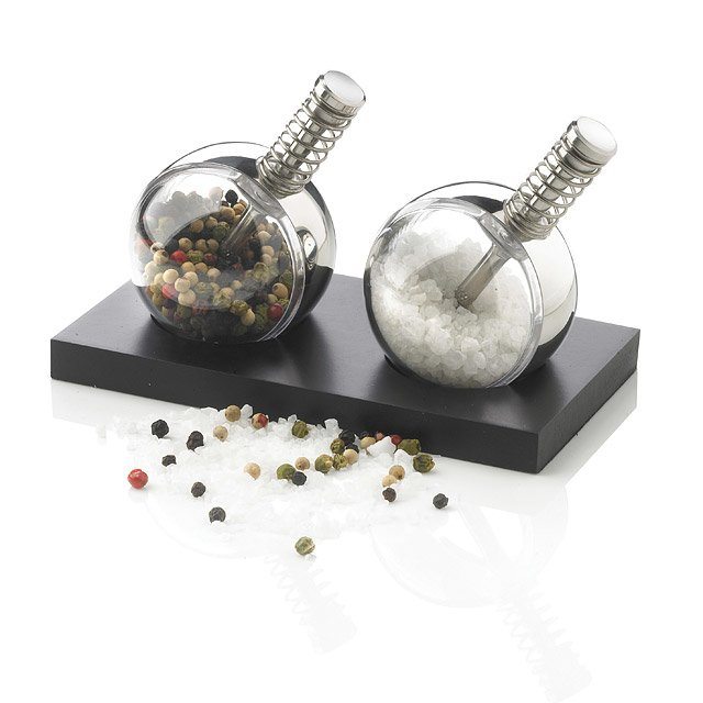 Planet Pepper and Salt Grinders