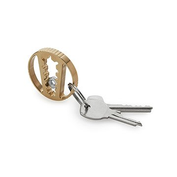 Aluminum Bronze Pocket Wrench Keychain