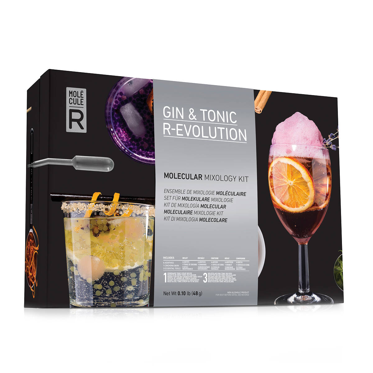 Molecular mixology kit gin tonic craft cocktail set molecular mixology kit gin tonic 2 thumbnail solutioingenieria Gallery