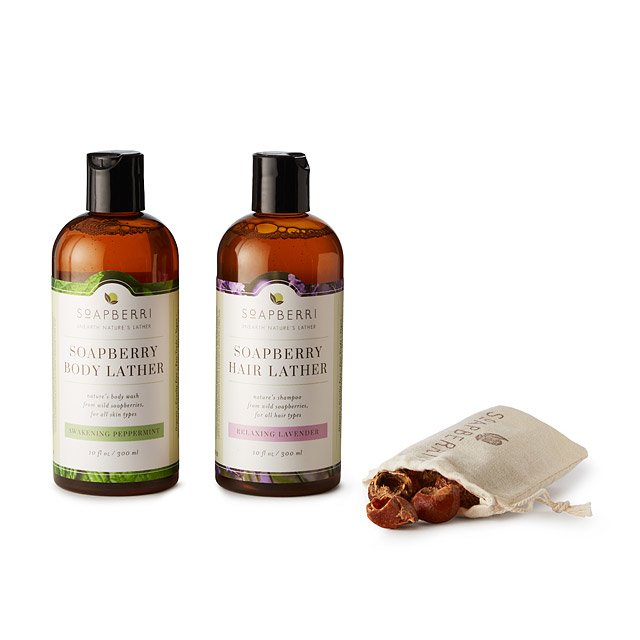 Nature's Lather Soapberry Gift Set