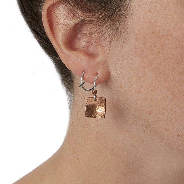 Spiral Double Piercing Earrings