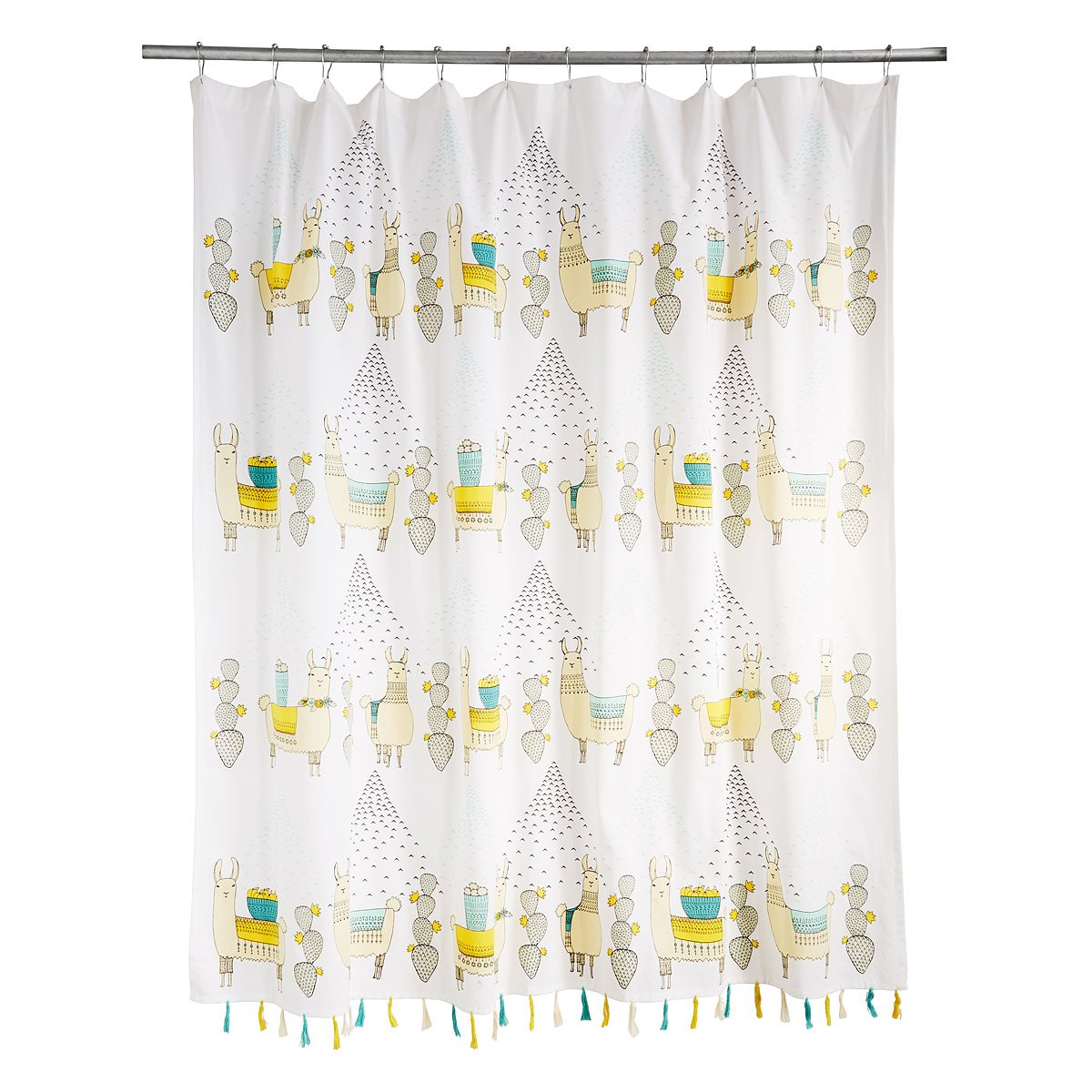 Larry and Friends Llama Shower Curtain | llama decor, llama print ...