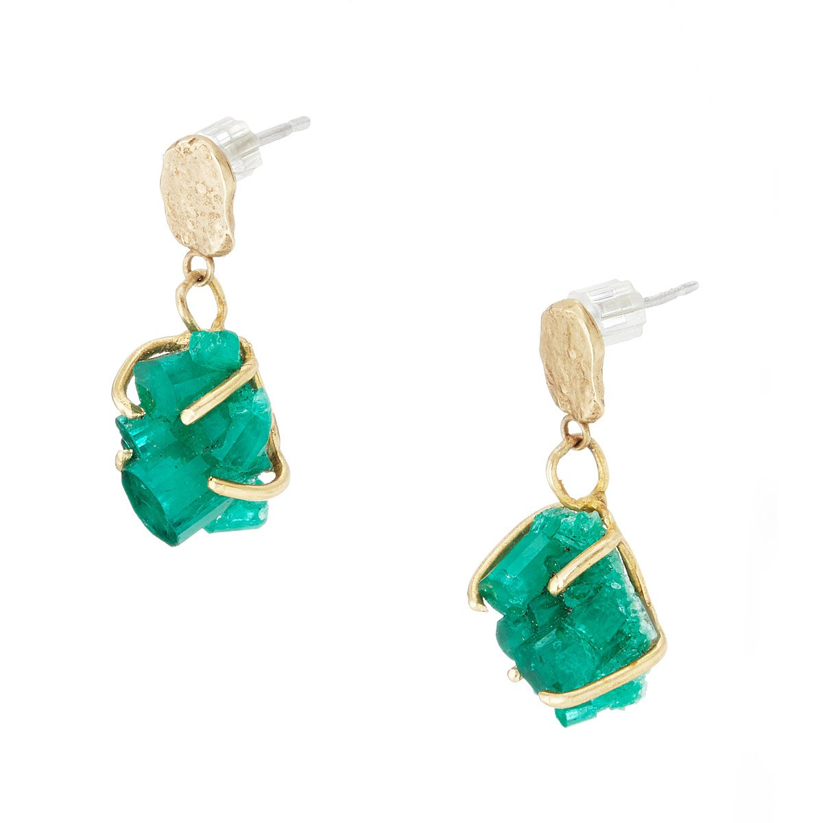 Emerald Crystal Earrings Uncommongoods