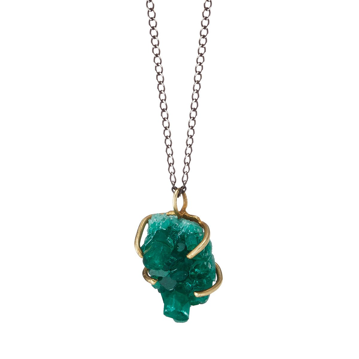 ele necklace keats product emerald divinity