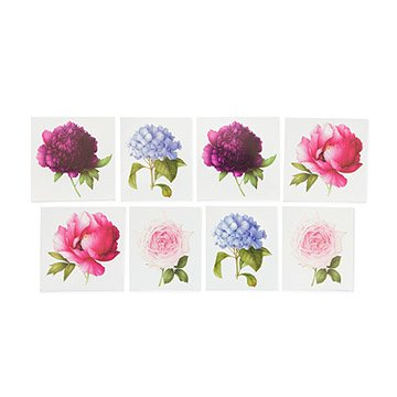 Scented Floral Temporary Tattoos