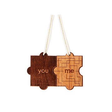 You & Me Christmas Ornament