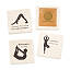 Yoga Pose Coasters - Set of 4 2 thumbnail