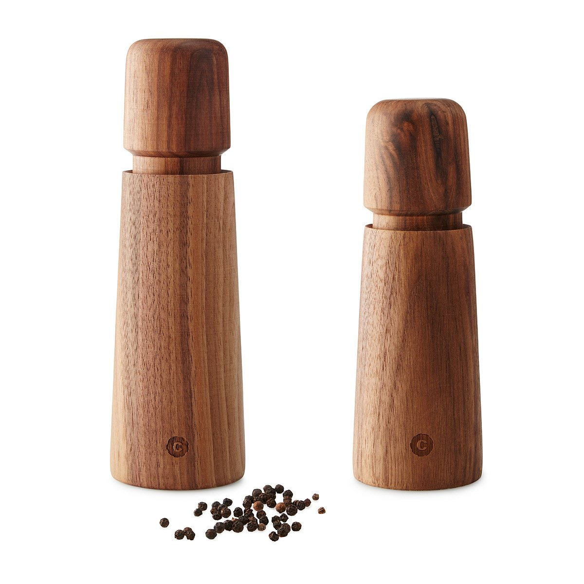 ocean reel salt and pepper mills  fishing decor salt and pepper  - push or twist salt or pepper grinders