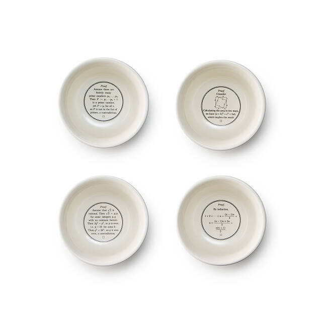 Proof is in the Pudding Bowls - Set of 4