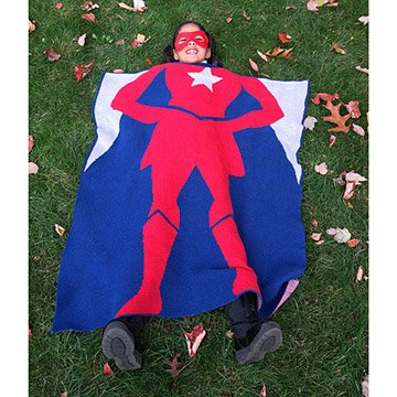 Super Hero Girl Blanket