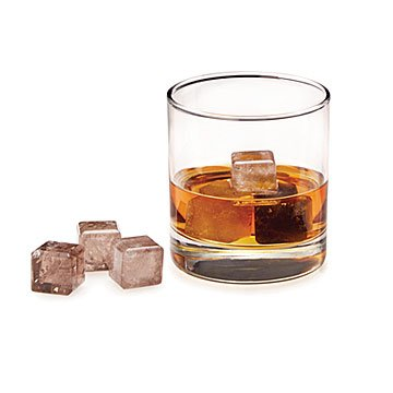 Smokey Quartz Whiskey Chillers - Set of 6