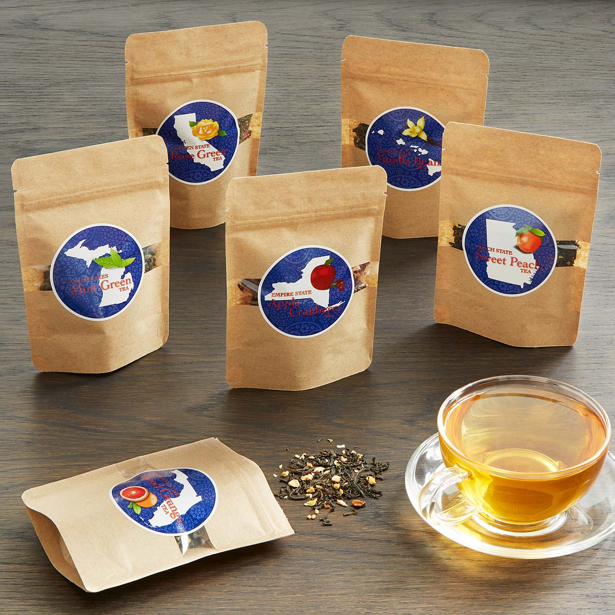 Tea Blends Of America Set Tea Flavor Assortment Uncommongoods
