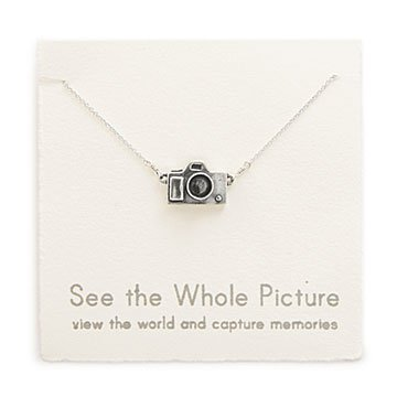Camera Charm Necklace