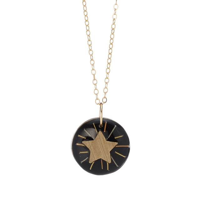 Radiant Cymbal Star Pendant