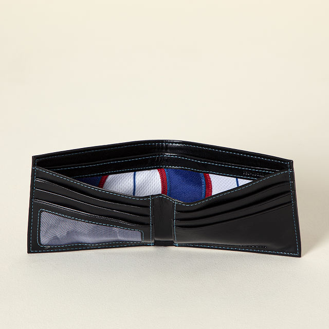 MLB Game Used Uniform Wallet