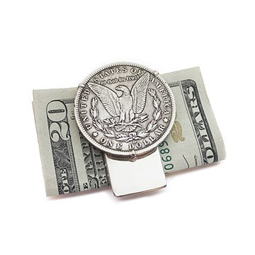 Morgan Silver Dollar Money Clip