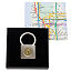 New York Transit Token Lock Keychain 1 thumbnail