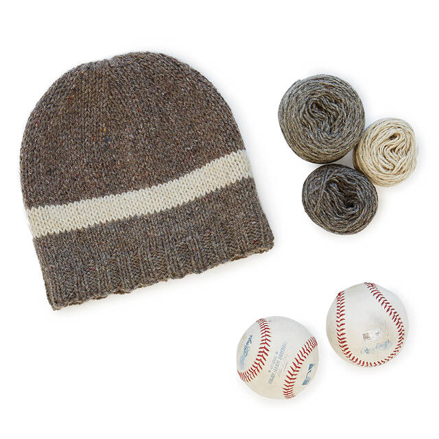MLB Game-Used Baseball Beanie: Choose Your Team