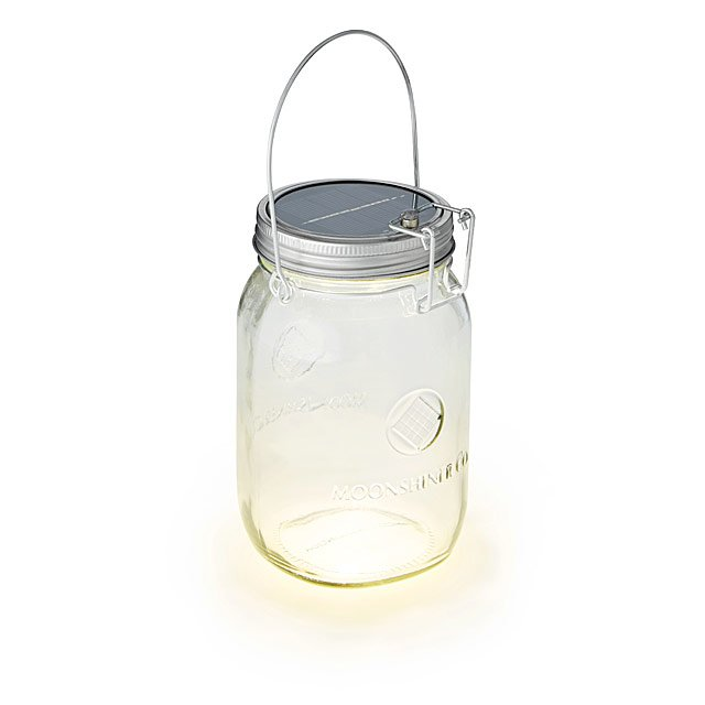 Solar-Powered Mason Jar