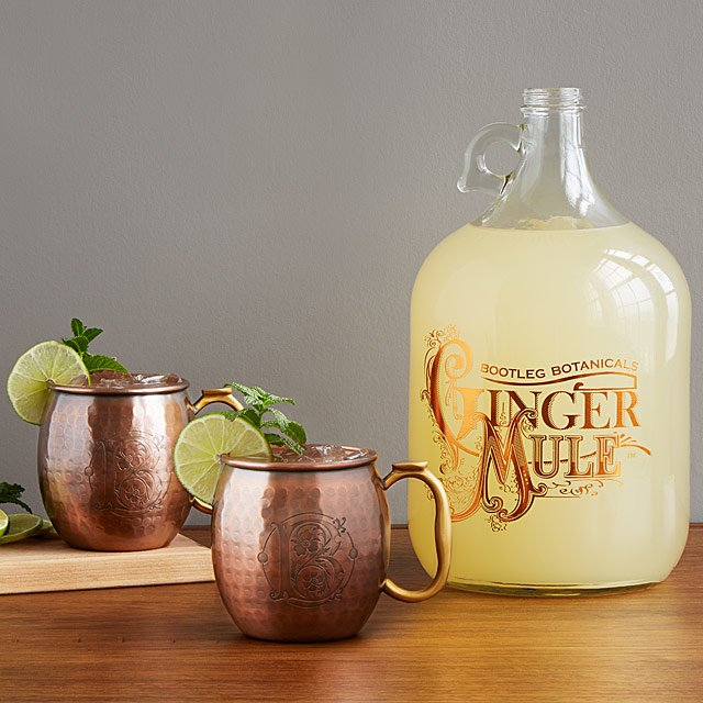 Ginger Beer Making Kit With Copper Mule Mugs by Ryan &Amp; Melanie Belshee