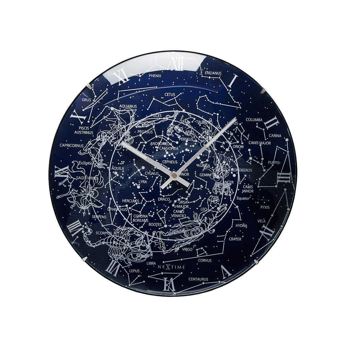 Unusual unique clocks recycled clocks cool clocks uncommongoods glowing milky way wall clock amipublicfo Image collections