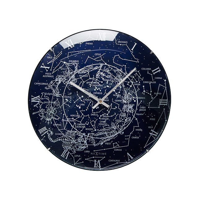 Glowing Milky Way Wall Clock