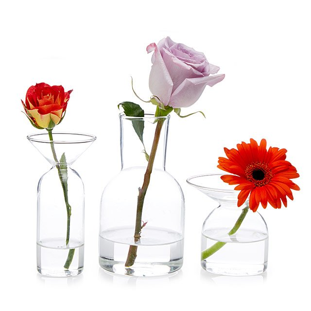 Gather Bud Vases - Set of 3
