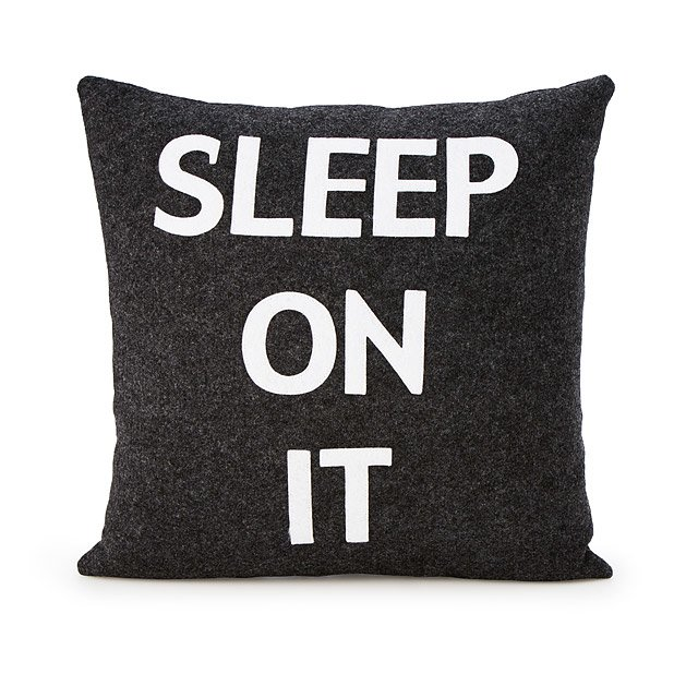 Sleep On It Pillow