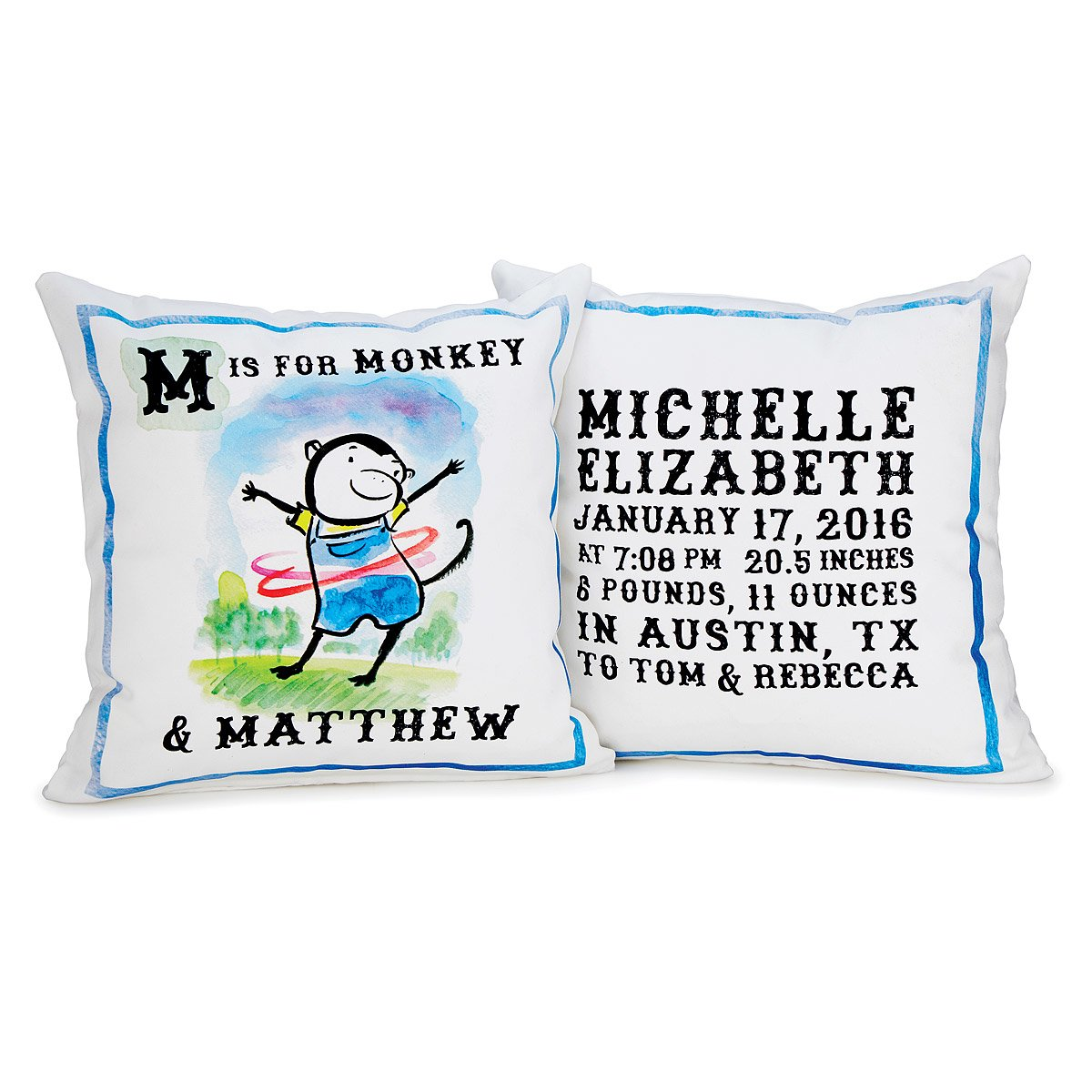 Personalized my alphabet pillow personalized baby gift personalized my alphabet pillow 1 thumbnail negle Image collections