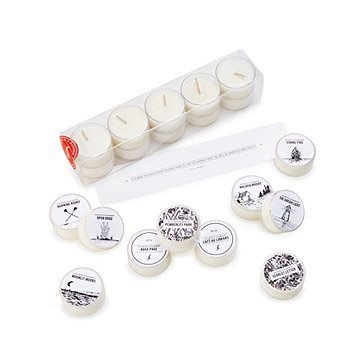 Mini Library Scented Tea Lights - Set of 10