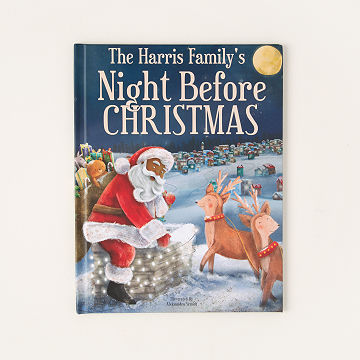 customizable personalized night before christmas book