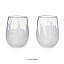 Etched Skyline Wine Glasses - Set of 2 2 thumbnail