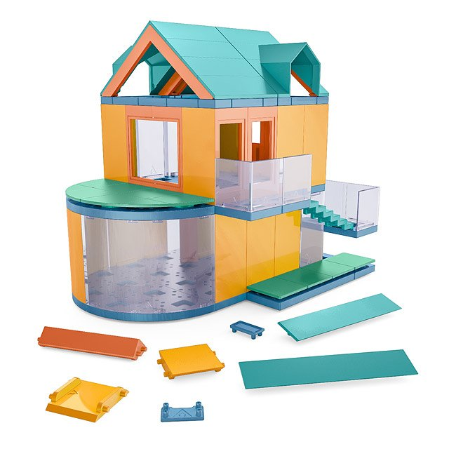 Architectural Model Kit for Kids | model kits, model