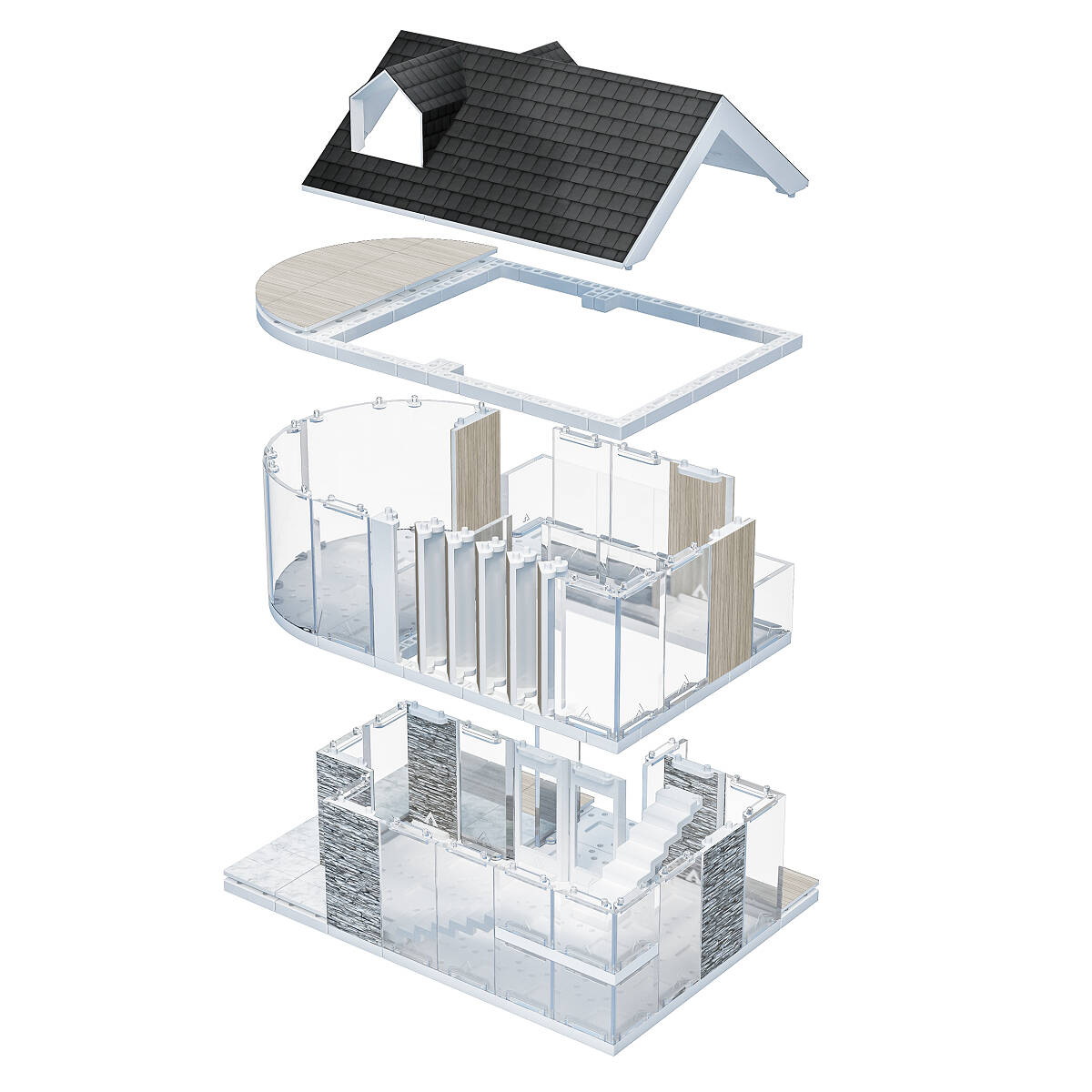Architecture Design Kit architectural model and design kit | model kits, model building
