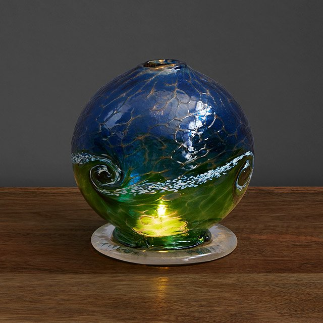 Sea Swirl Candle Dome