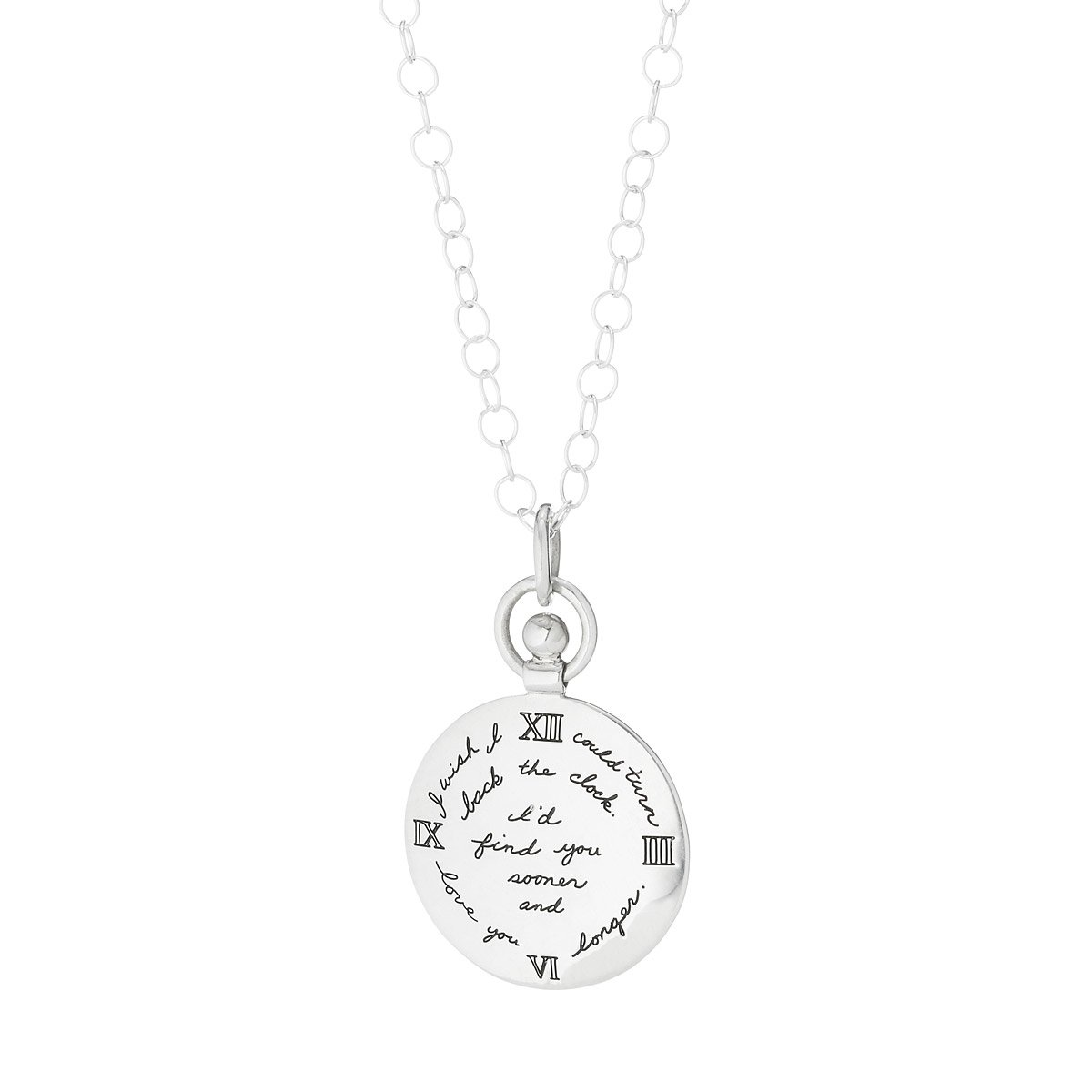 Gifts For Wife Part - 42: Turning Back Time Pendant