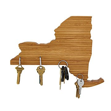 Wooden States of America Magnetic Key Holders