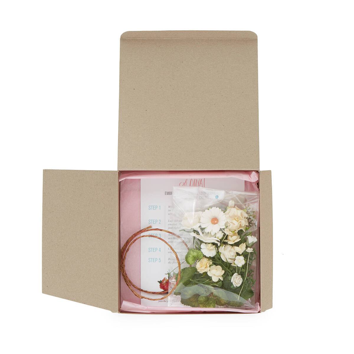 Make Your Own Flower Crown Flower Crown Kit Uncommongoods