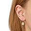 Tiny Love Hook Earrings 2 thumbnail