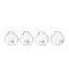 Place Card Holder Vases - Set of 4 2 thumbnail