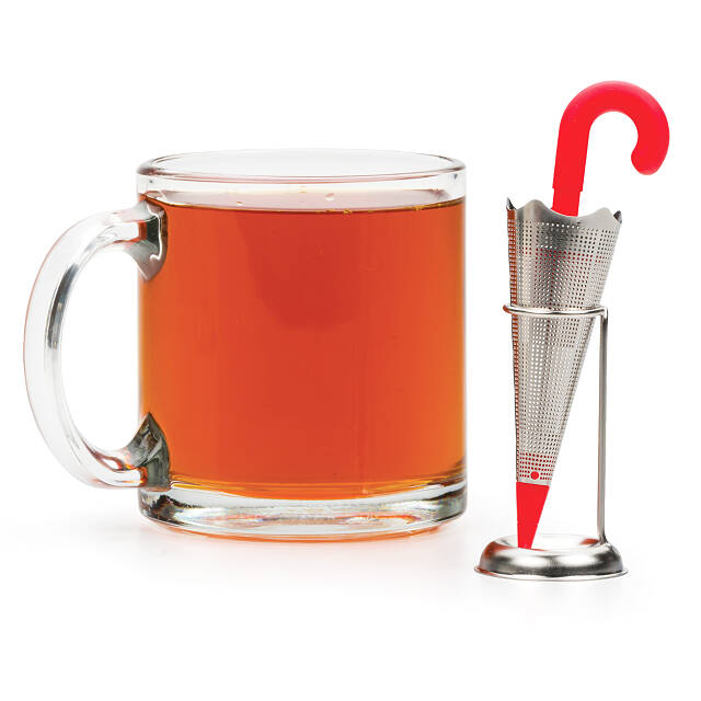Umbrella Tea Infuser with Stand