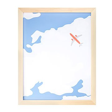 Into the Clouds Print