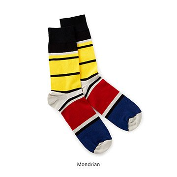 Men's Modern Art Inspired Socks