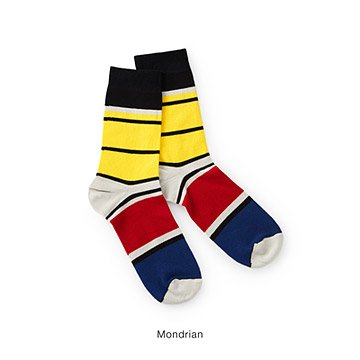 Women's Modern Art Inspired Socks